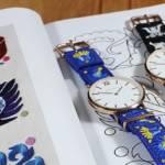 Hodinky André Charles, kolekcia náramkov so slovenskou výšivkou
