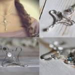 Umelecká šperkárka Zuzana Zliechovcová, kovové vlasové ozdoby, náušnice, náramky, brošne, prstene.