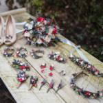 Magaela čelenky, venčeky, sponky, brošne, opasky, náhrdelníky, náušnice