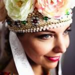 SlavicAura ozdoby hlavy, folklórne party, čepce, vence, čelenky, korunky