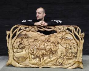 Rezbár Marko Savkovič veľkou inšpiráciou v tvorbe je príroda