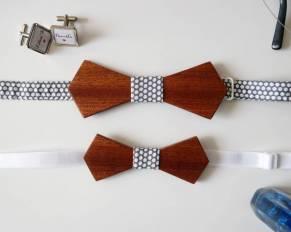 Woodenka tvorí produkty z dreva, drevené motýliky, bytové doplnky