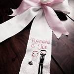 Romana Ferencová sa venuje vyšívaniu krížikom, dámske opasky, obrúsky