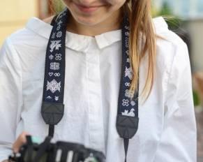 My Mimi folk S láskou ručne vyrábané popruhy na foťáky, popruh na fotoaparát