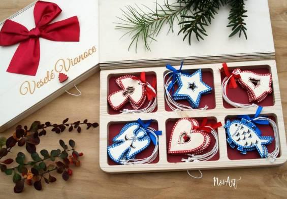 Vianočné ozdoby a dekorácie NoiArt