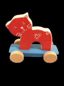 Slončo Drevené Hračky, vyrezávané tvarované zvieratká.